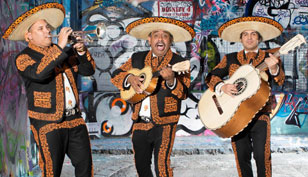 A Mexican Folk Music Trio